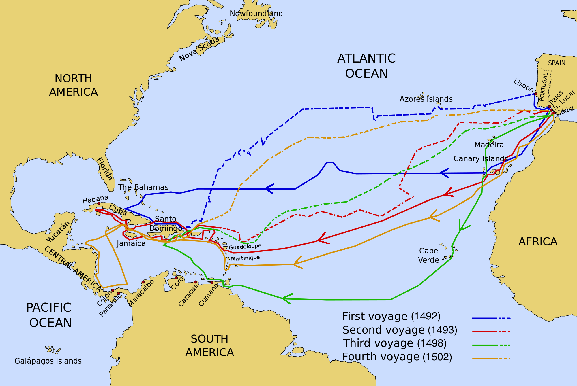 the impact of the columbus discovery of america to the american history Scholars have estimated that, prior to the 'discovery' of the americas by  europeans,  when columbus 'discovered' america: a real history lesson   had devastating effects on the populations that inhabited the americas.