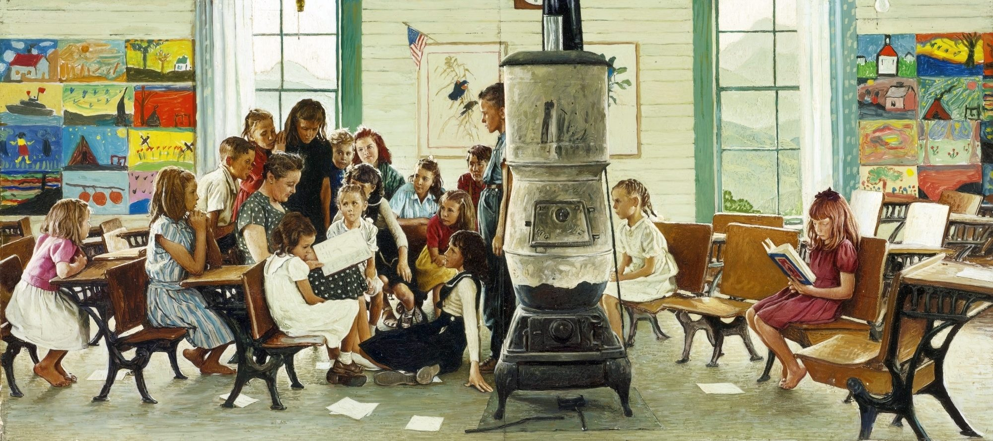 Visions Of History 1 Norman Rockwell A Vision Of